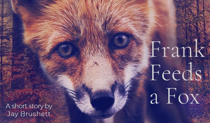 Frank Feeds a Fox